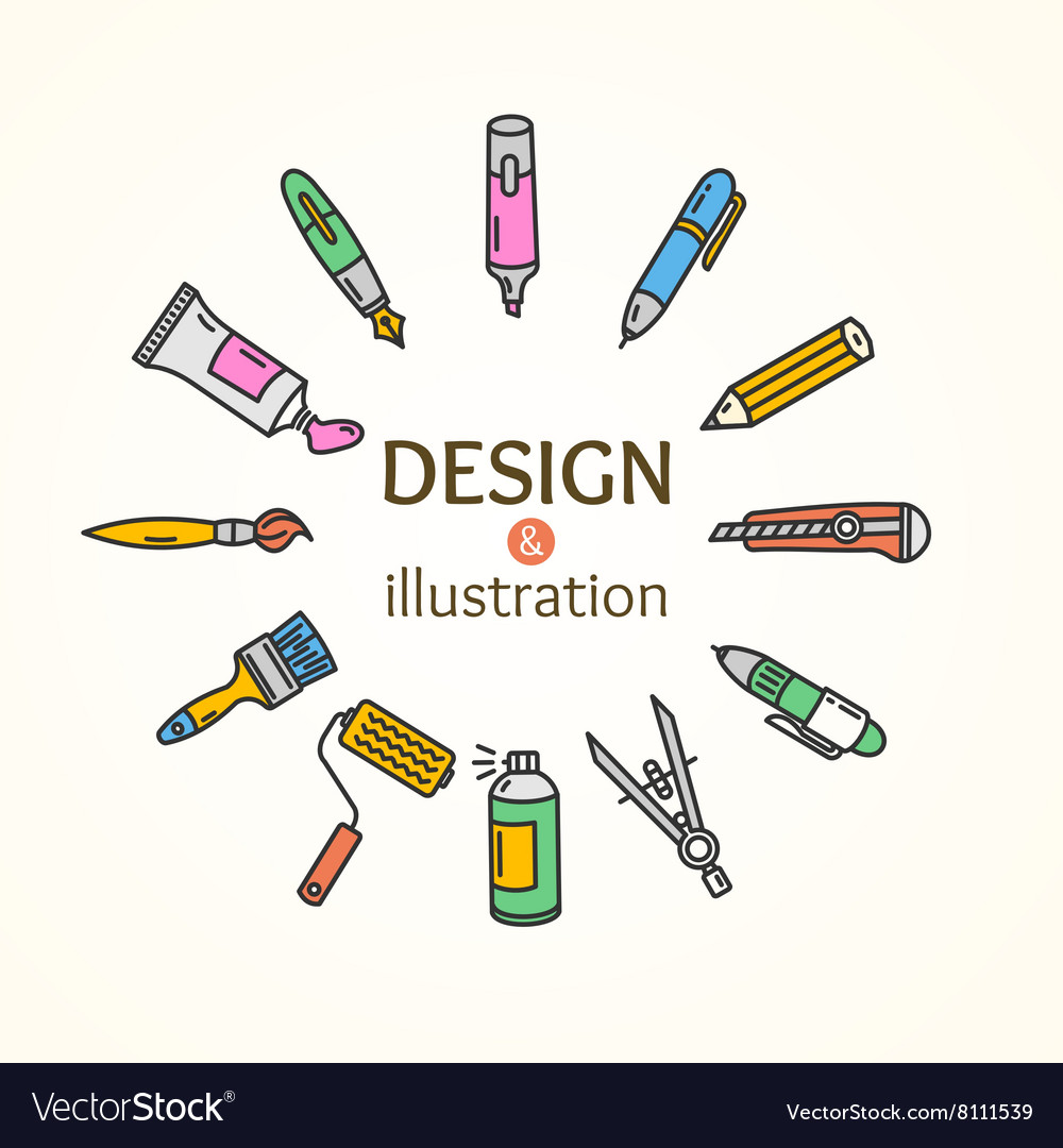 Design and concept vector