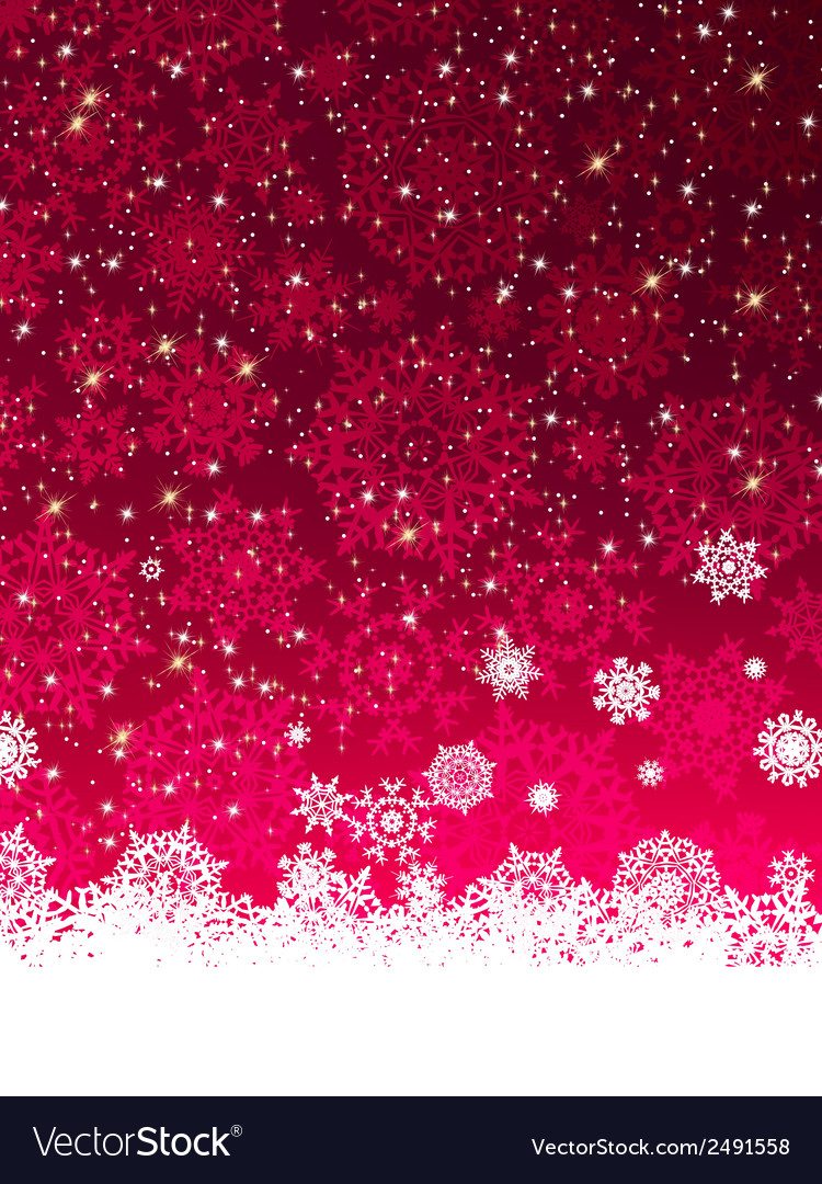 Abstract purple winter background eps 8 vector