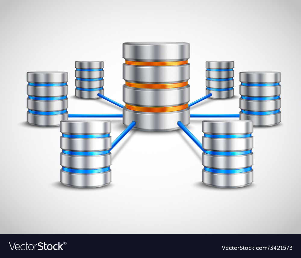 Network database concept vector