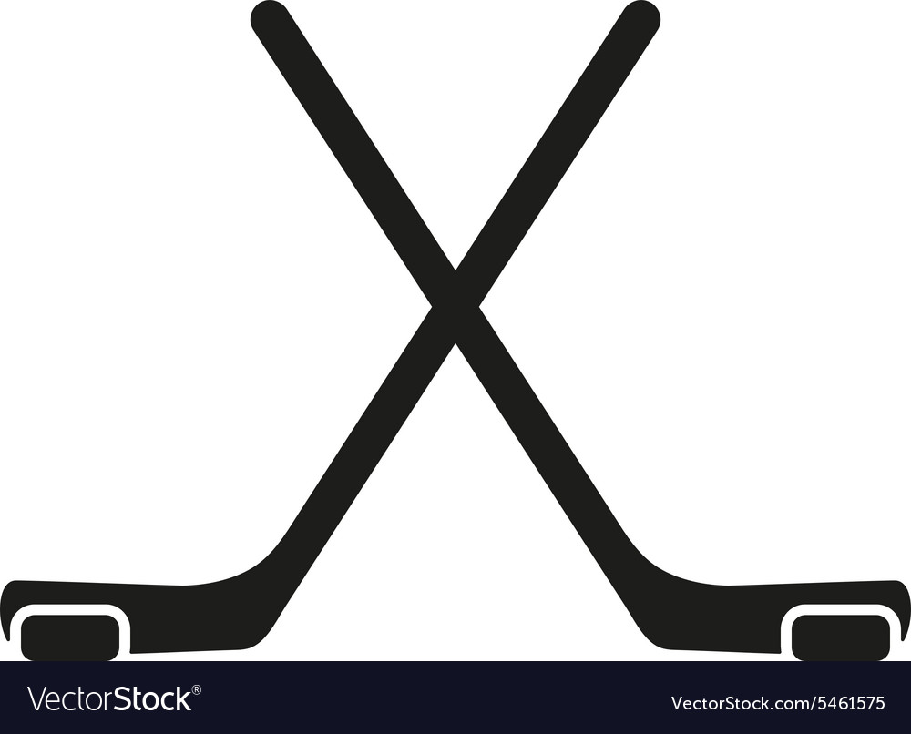 Hockey icon game symbol flat vector
