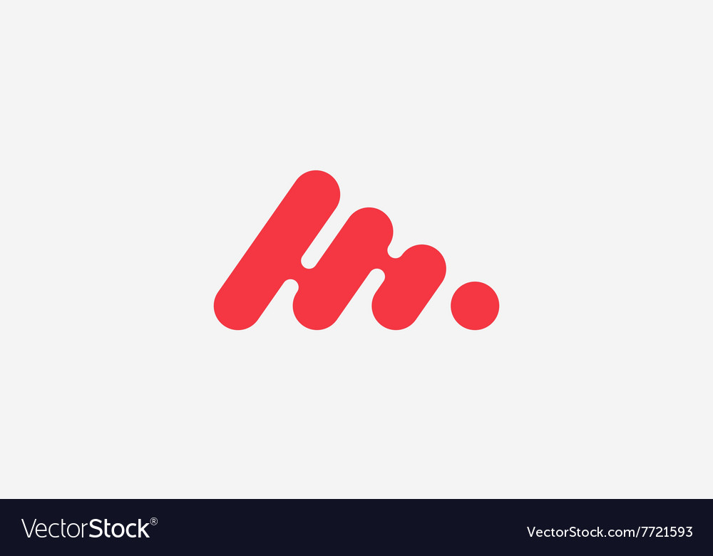 Abstract logo minimalistic logo design creative vector