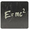 einstein formula vector image