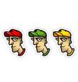 cartoon avatar vector image vector image