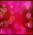Dark red purple magenta bokeh blur vector image vector image