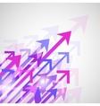 Background arrows print vector image
