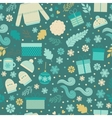 Christmas seamless pattern in vector image