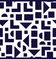 seamless pattern in 90 80 style vector image