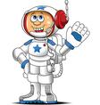 Astronaut cartoon vector image vector image