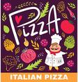 Pizza shop design vector image vector image