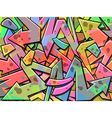 Graffiti Background vector image