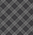 gray fabric pattern vector image