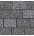 Wall of gray granit vector image