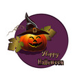 happy halloween backdrop vector image