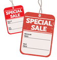 vintage and modern special sale price tag vector image