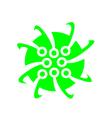 Electronic Logo Icon Template vector image vector image
