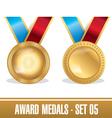 Award Medals Set 05 vector image
