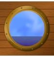 sea ship vector image