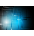 Modern technology background vector image vector image