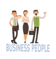 Business People Set 2 vector image