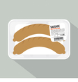 Sausage Pack Sale vector image vector image