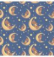 bear sweet dreams seamless big vector image vector image