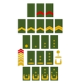 Netherlands Army insignia vector image vector image