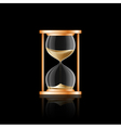 hourglass 2 vector image
