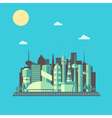 Future City 01 vector image vector image