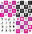 set of logos Beauty vector image