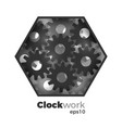 clockwork concept vector image