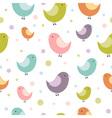 birdies seamless vector image vector image