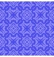 Blue Ornamental Seamless Line Pattern vector image