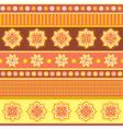 bright ethnic ornament vector image