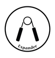 Icon of Hands expander vector image