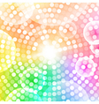 Abstract circular colorful background vector image