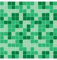 green mosaic vector image