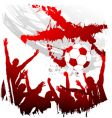 world cup England vector image