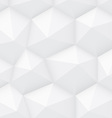 White Polygonal Background vector image vector image