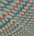 Abstract background diamond vector image