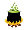 Cauldron - Halloween vector image