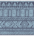 Abstract tribal pattern vector image vector image