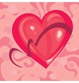 heart with a Ribbon vector image