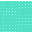 Blue Green Mint Star Polka Dots Background vector image