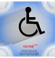 disabled Flat modern web design on a flat vector image