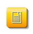paper document file isolated icon vector image