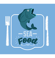 sea food vector image