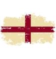 English grunge flag vector image vector image