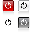 Switch button vector image