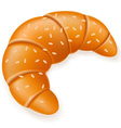 croissant 02 vector image