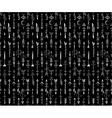 Tribal Hand Drawn arrow seamless pattern vector image